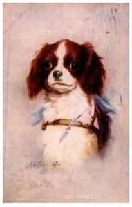 Dog ,   Princess artist signed Kenyon-07