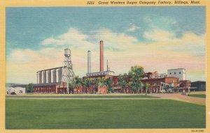 BILLINGS , Montana, 1930-40s ; Great Western Sugar Company Factory