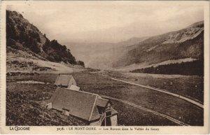 CPA Le MONT-DORE-Les BURONs dans la Vallée du SANCY (46473)