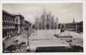 RP, Piazza Del Duomo, MILANO (Lombardy), Italy, 1920-1940s