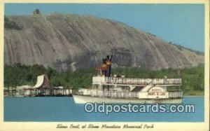Show Boat AT Stone Mountain Memorial Park Steam Ship Unused light wear close ...