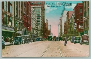 Cleveland Ohio~Cloak Co~5&10 Store, Baker's, Dancing, Euclid Arcade, KofC 1914