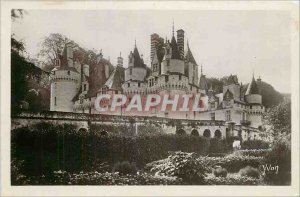 Old Postcard Chateaux of the Loire Chateau de Rigny Usse of North East Overview