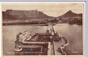 South Africa, Promenade Pier, Table Mountain & Lions Head PPC, Unposted