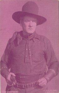 Cowboy Actor Tom Santschi , 30s
