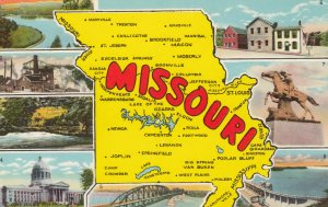 MAP ; Missouri , 1930-40s