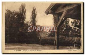 Old Postcard Moret Dungeon Given Des Vieux Moulin