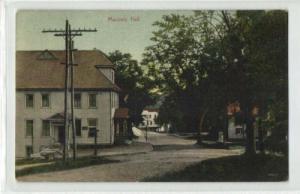 Conway, Mass., Masonic Hall, Freemasonry (1910s)