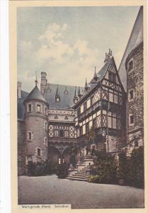 Schlosshof, WERNIGERODE (Saxony-Anhalt), Germany, 1910-1920s