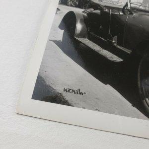 Wellington Everett WE W E Miller Classic Car California Photo RPPC Postcard F139