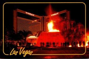 Nevada Las Vegas The Mirage Volcano