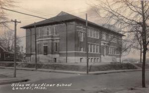 E47/ Laurel Mississippi Real Photo RPPC Postcard c1910 Silas W Gardiner School