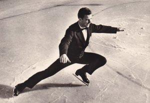 RP: Figure Skater KAROL DIVIN (CSSR) Autoographed, 1960s (3)