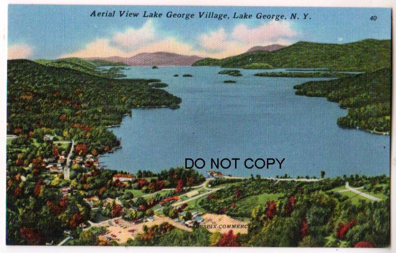 Aerial View, Lake George NY