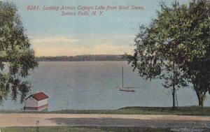 Looking Across Cayuga Lake from West Shore, Seneca Falls, New York, 00-10s