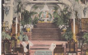 RIVERSIDE , California , 00-10s , Bridal Stairway , Mission Inn