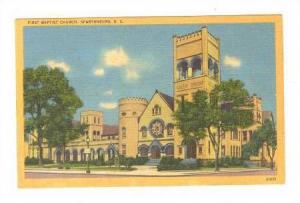 First Baptist Church, Spartanburg, South Carolina, 1930-1940s