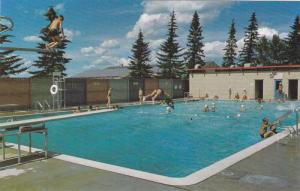 Olds and District swimming pool, Olds,  Alberta,  Canada,  40-60s