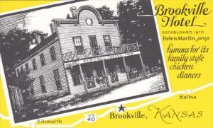 Kansas Brookville The Brookville Hotel