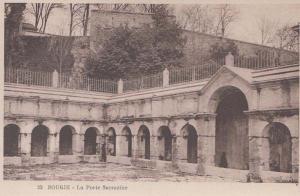 Port Porte Sarrazine Rare Bougie Algeria Antique Algerian Mediterranean Postcard