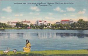 Florida St Petersburg Vocational and Junior High Schools & Christian Church O...