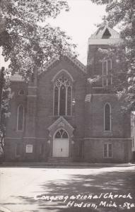 RP: Congregational Church , HUDSON , Michigan , PU-1961