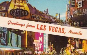 Nevada Las Vegas Greetings From Las Vegas 1970