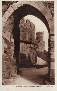 RP: WALES, 1920-1940s; The Courtyard, Conway Castle