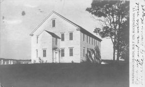 19491 VT Rockingham Church