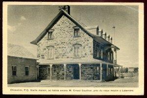 dc743 - CHICOUTIMI Quebec Postcard 1930s Vieille Maison