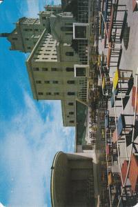 MYRTLE BEACH , South Carolina , 40-50s ; Giant 9 by 6 postcard : Marine Patio