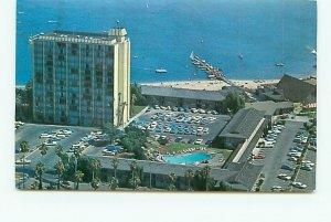 Buy Postcard Aerial Catamaran Hotel San Diego California