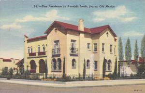 Fine Residence on Avenida Lerdo , Juarez , Mexico , 30-40s