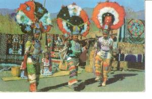 Postal 035800 : Indios vestidos de plumas en Oaxaca (Mexico)