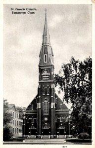 Connecticut Torrington St Francis Church 1955