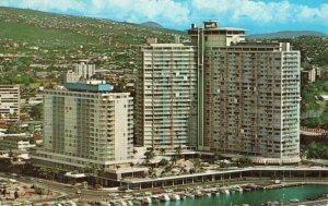 Postcard Ilikai Hotel Waikiki Hawaii