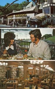 Canada - Ontario, Niagara Falls. Victoria Park Restaurant, Multi-View