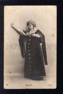 031772 FRIDE Italian Opera Star Vintage PHOTO PC