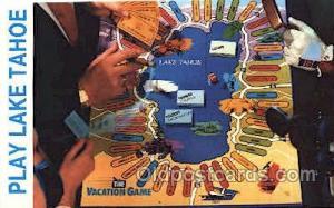 Lake Tahoe Casino Gambling Postcard Postcards  Lake Tahoe Casino