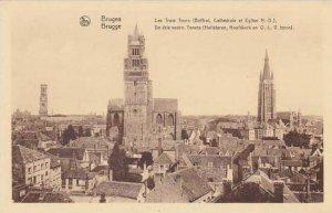 Belgium Bruges Les Trois Tours