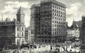 Onondaga Co. Savings Bank Bldg. Syracuse NY Unused