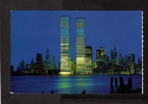 NY World Trade Center Twin Towers New York City NYC Postcard