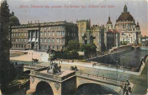Germany Berlin 1910s view vintage postcard