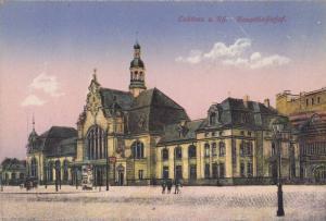 Hauptbahnhof, Coblenz (Rhineland-Palatinate), Germany, 1900-1910s