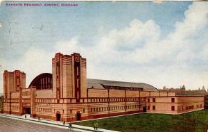 IL - Chicago. 7th Regiment Armory