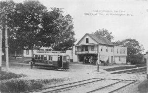 G31/ Great Barrington Massachusetts RPPC Postcard c1950 Reprint Store Trolley