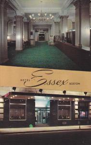 Hotel ESSEX , Boston , Massachusetts , 50-60s