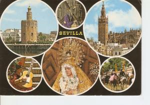 Postal 033720 : Sevilla. Bellezas de la Ciudad