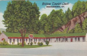 Kentucky Middlesboro Britton Tourist Court sk2201