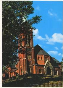 St. Andrew's Presbyterian Church St. John's Newfoundland NFLD Postcard D9